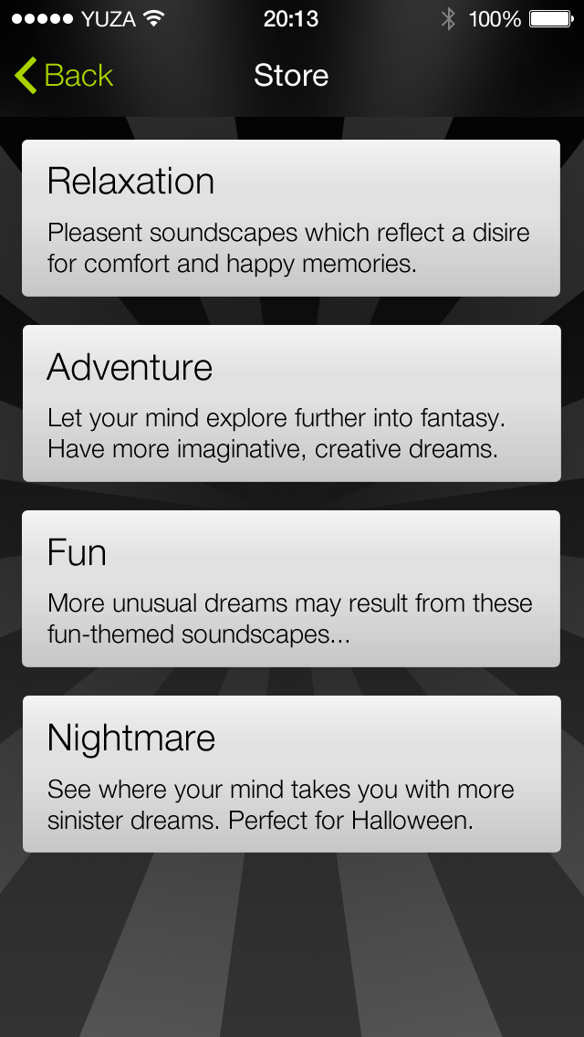 Dream:ON - The App to Influence Your Dreams